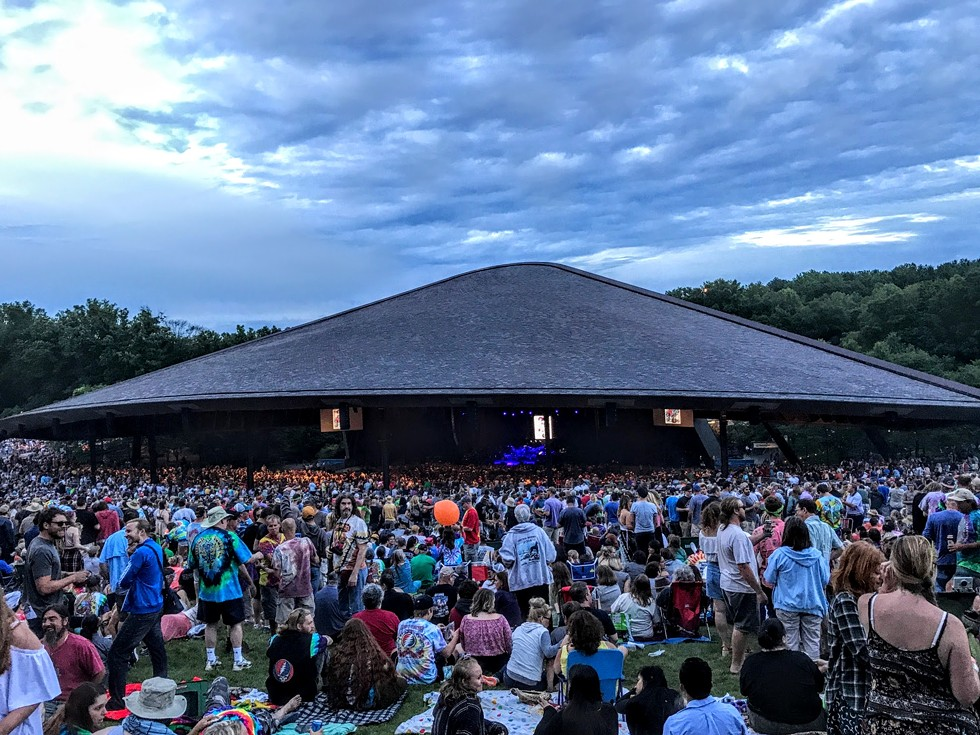Blossom Music Center - PHOTO BY CP THORNTON