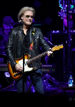 Hall & Oates performing at the Q last year. - SCOTT SANDBERG