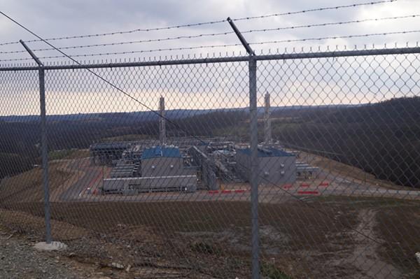"MarkWest Compressor Station / Ohio ""Environmental Devastation Tour,"" 3/9/2018. - SAM ALLARD / SCENE"