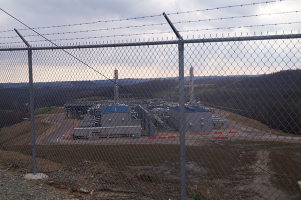 "MarkWest Compressor Station / Ohio ""Environmental Devastation Tour,"" 3/9/2018. - SAM ALLARD / SCENE"