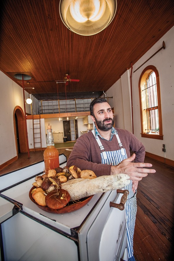 Jeremy Umansky of Larder - PHOTO BY BARNEY TAXEL