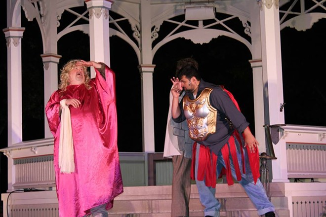 SHAKESPEARE IN THE SQUARE MIDSUMMER NIGHT'S DREAM (2015) COURTESY OF JOE KENDERES