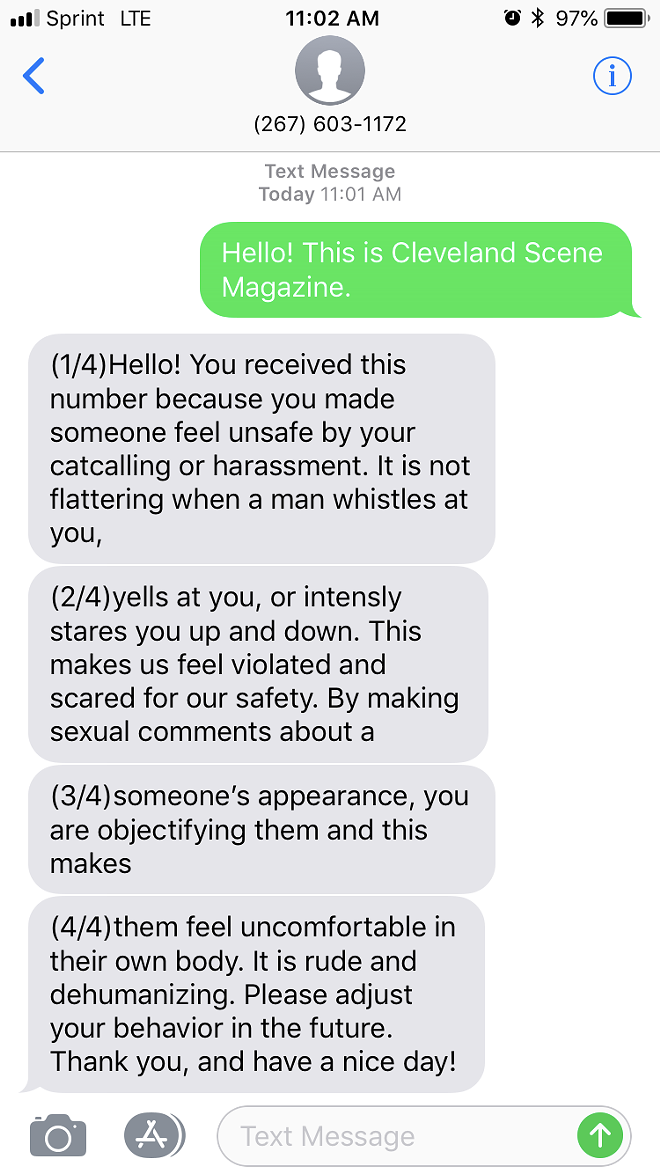 BJ COLANGELO | STREET HARASSMENT HOTLINE