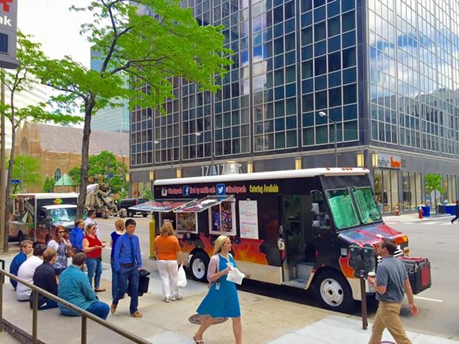 Cleveland Public Square Food Trucks