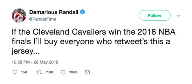 DAMARIOUS RANDALL   TWITTER