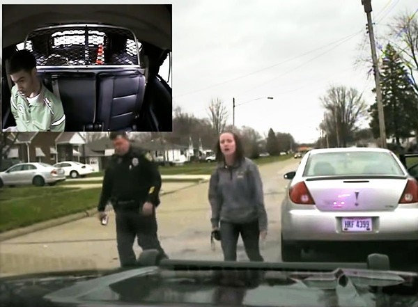 SCREENSHOT OF DASHCAM FOOTAGE