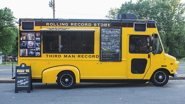 The Third Man Records' Rolling Record Truck. - COURTESY OF THE BEACHLAND BALLROOM