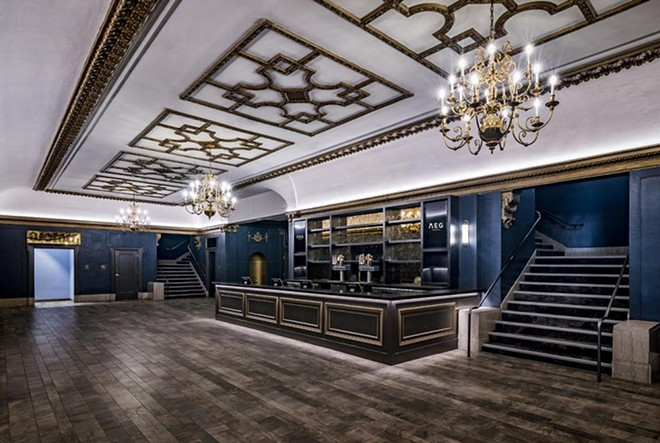 The first floor bar after renovations. - COURTESY OF AEG PRESENTS