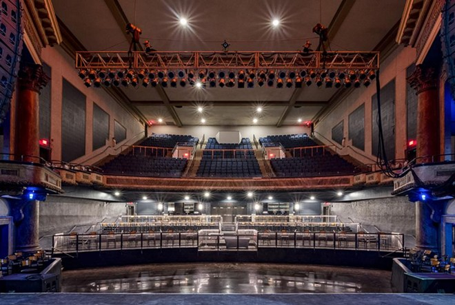 The main theater after renovations. - COURTESY OF AEG PRESENTS