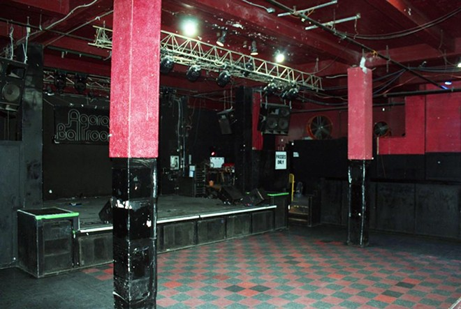 The ballroom before renovations. - COURTESY OF AEG PRESENTS