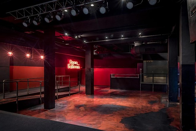 The ballroom after renovations. - COURTESY OF AEG PRESENTS