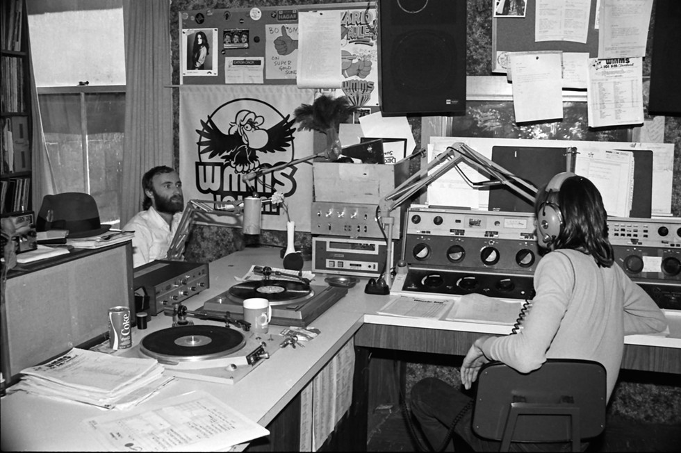 Phil Collins at WMMS in 1980. - PHOTO BY JANET MACOSKA