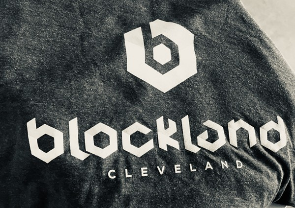 Blockland swag, courtesy of Hotcards. - SAM ALLARD / SCENE