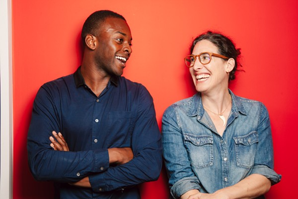 Emmanuel Dzotsi and Sarah Koenig - SANDY HONIG / COURTESY: SERIAL