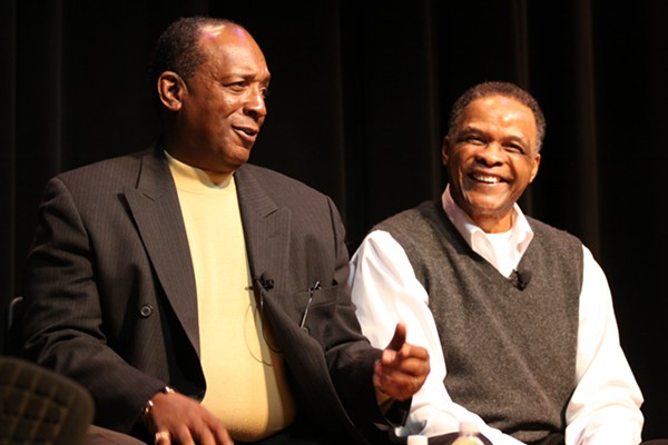 Little Anthony  and the Imperials at their 2009 Hall of Fame series. - NEAL HAMILTON