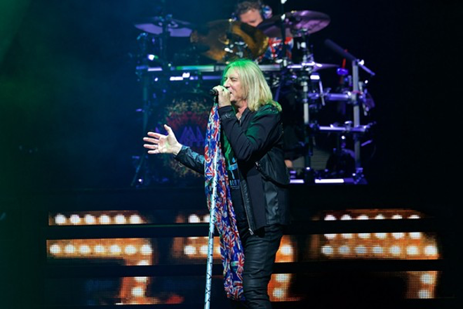 Def Leppard performing in Cleveland earlier this year. - SCOTT SANDBERG