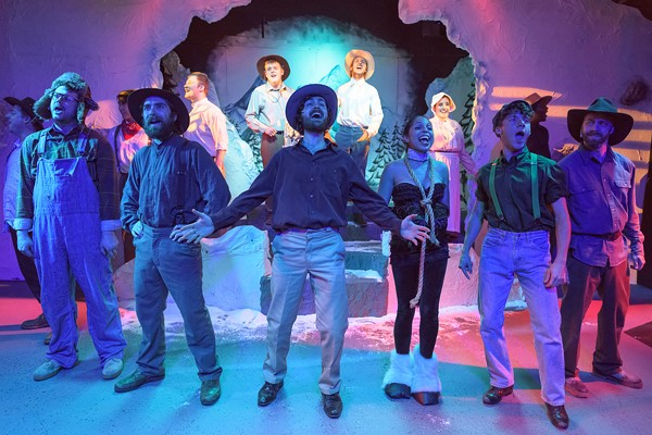'Cannibal, the Musical' at Blank Canvas Theatre Lacks Timing, and Whole Lot More