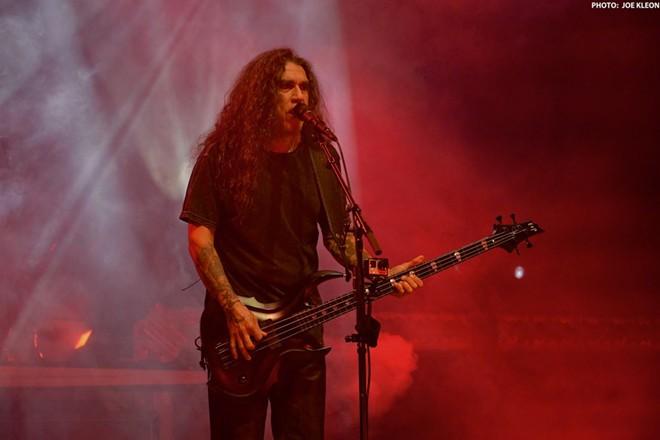 Slayer performing at Blossom. - JOE KLEON