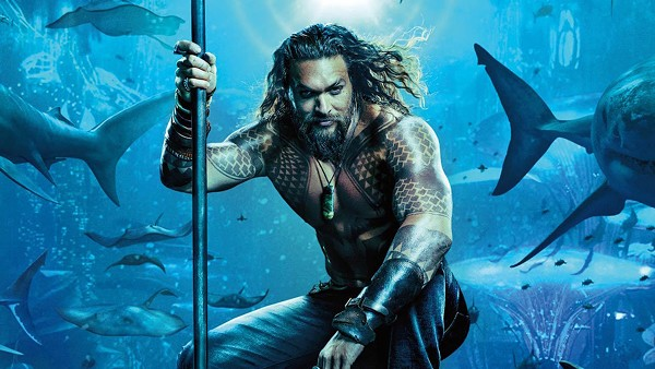 Jason Momoa as Arthur Curry, aka Aquaman
