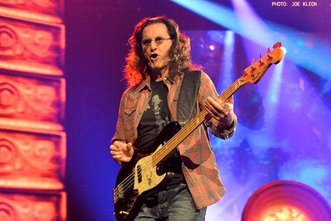 Rush performing at Nationwide Arena in Columbus in 2015. - JOE KLEON