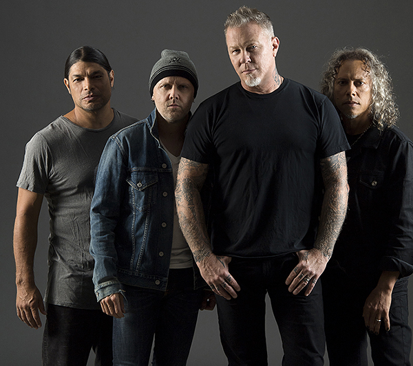 The Rock Hall to Screen Uncut Footage of Metallica's 2009 Induction