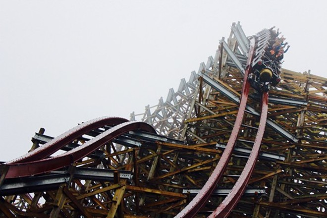 Last year's big new attraction at Cedar Point was the Steel Vengeance. - PHOTO BY ZACH ZELMAN