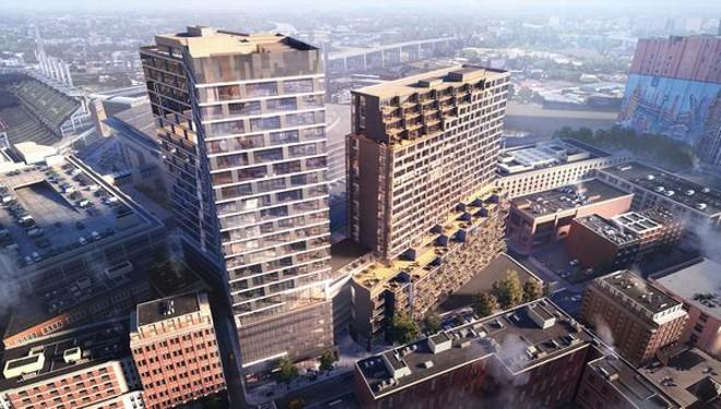 nuCLEus, architectural rendering - STARK ENTERPRISES