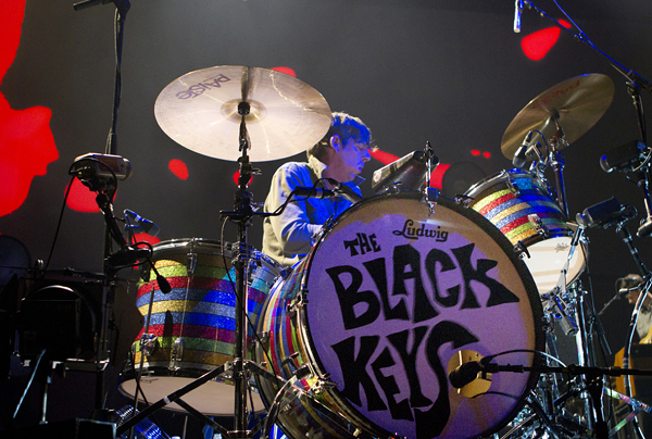 Snapshot from when the Black Keys hit up the Q in 2012. - PHOTO BY PATRICK MURPHY