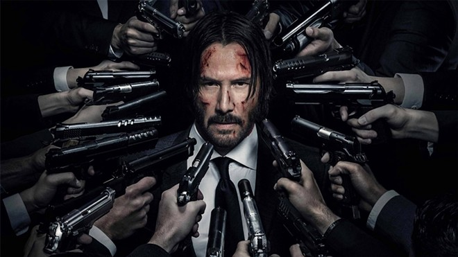 A promo image for John Wick Chapter 2