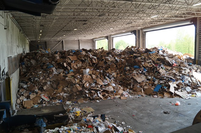 Republic Services Recycling Center, (5/18/19). - SAM ALLARD / SCENE