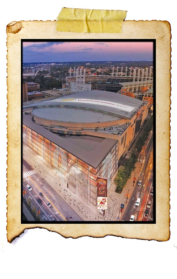 The Rocket Mortgage Fieldhouse, nee Quicken Loans Arena