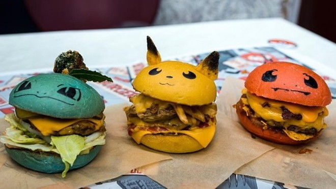 A photo of what the Pokemon-themed burgers are supposed to look like. - PHOTO COURTESY OF THE POKEBAR