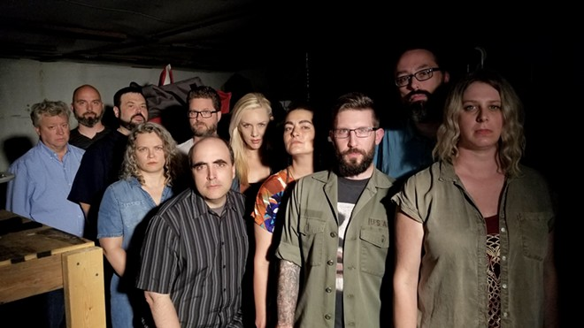 The cast of Cryptic. - COURTESY OF CROOKED PATH PRODUCTIONS