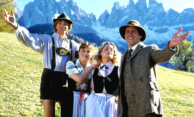"""NATIONAL LAMPOON'S EUROPEAN VACATION"" FILM SCREENSHOT"