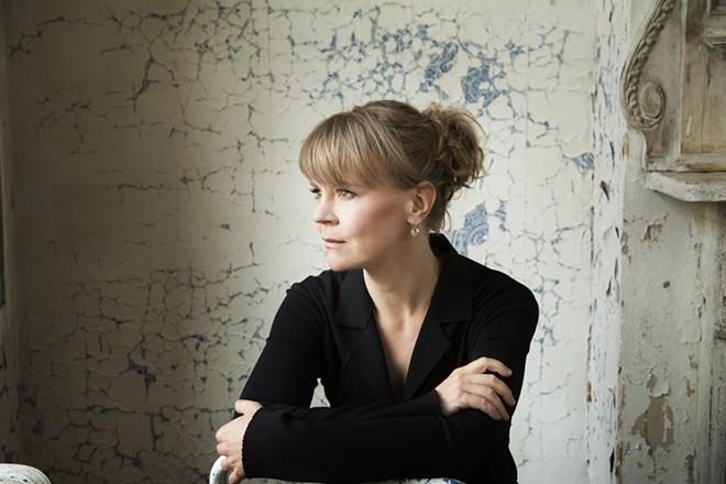 Conductor Susanna Malkki - PHOTO BY SIMON FOWLER