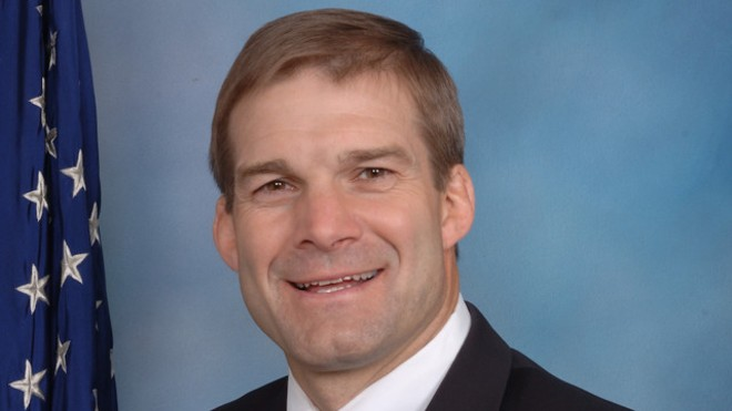 U.S. Rep. Jim Jordan - U.S. HOUSE OF REPRESENTATIVES PHOTO