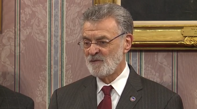 Mayor Frank Jackson addresses the media (3/11/20).