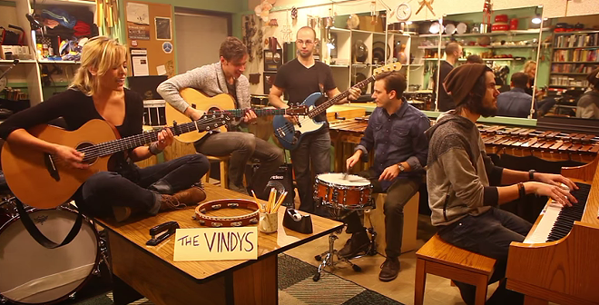 THE VINDY'S 2016 TINY DESK ENTRY/YOUTUBE SCREENGRAB
