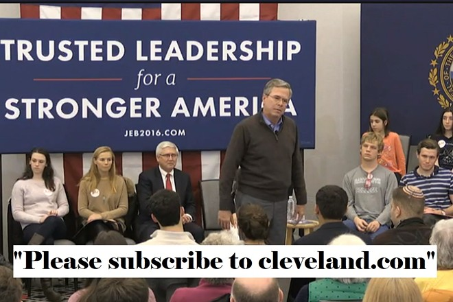 Jeb Bush and Chris Quinn would love it if you'd show them some respect and please subscribe!