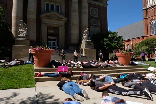 PAINESVILLE PROTEST, PHOTO BY STEPHANIE GENTRY
