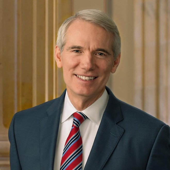 SEN. ROB PORTMAN, OFFICIAL HEADSHOT