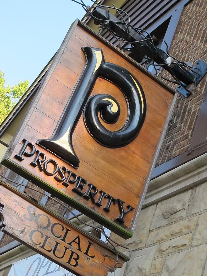 COURTESY OF PROSPERITY SOCIAL CLUB