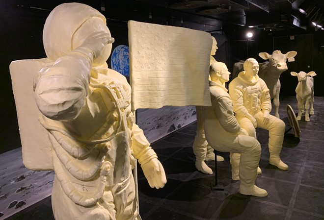 2019 Sculptures Celebrating the 50th Anniversary of the Moon Landing - PHOTO VIA ADA MIDEAST