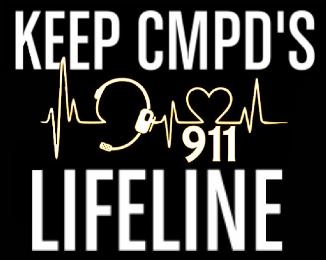A number of Cleveland Metroparks police officers have posted this image to their Facebook pages in support of dispatchers. - PROVIDED ANONYMOUSLY