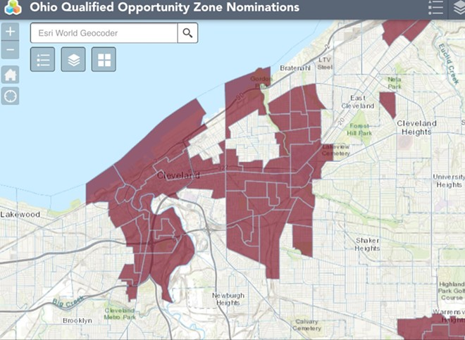 """The City of Cleveland's """"Opportunity Zones"""" - OHIO DEVELOPMENT SERVICES AGENCY"""