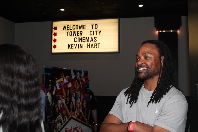 A Kevin Hart promo event at Tower City Cinemas. - MANNY WALLACE / SCENE