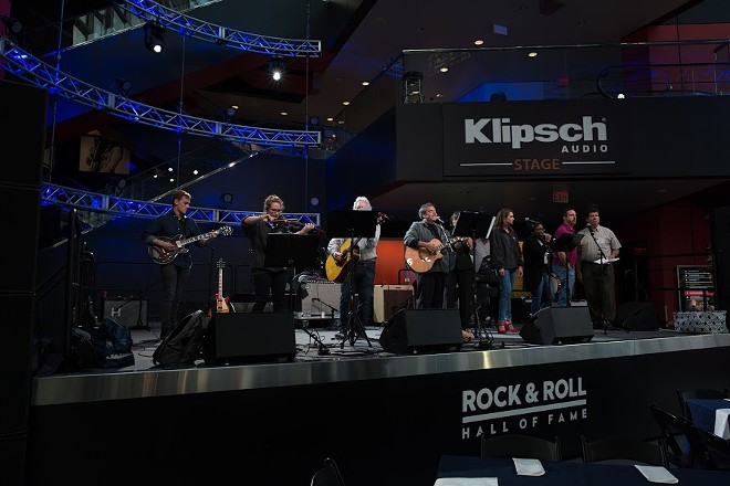Razing the Bar performing at the Rock Hall in 2018. - COURTESY OF THE LEGAL AID SOCIETY