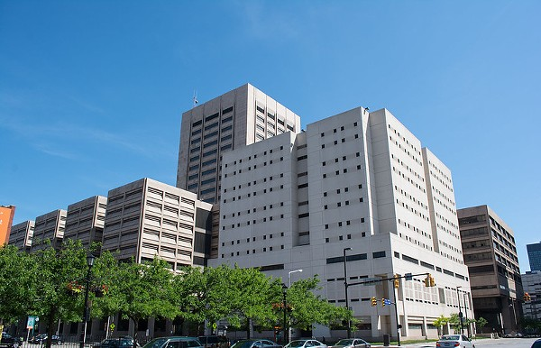 CUYAHOGA COUNTY JUSTICE CENTER AND JAIL. PHOTO BY TIM EVANSON/FLICKRCC