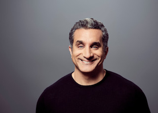 Egyptian comedian Bassem Youssef. - COURTESY OF JEFF ABRAHAM