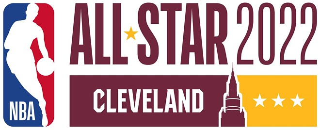 The NBA 2022 All-Star Game primary logo.